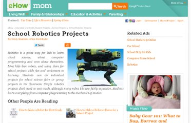 http://www.ehow.com/list_6528432_school-robotics-projects.html
