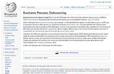 http://fr.wikipedia.org/wiki/Business_Process_Outsourcing
