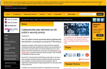 http://www.infosecurity-magazine.com/view/25693/cybersecurity-tops-terrorism-as-us-publics-security-priority/#.T6zWsxyhW3g.twitter