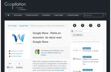 http://www.goopilation.com/2009/06/google-wave-partisz-en-excursion-de-retour-avec-google-wave.html