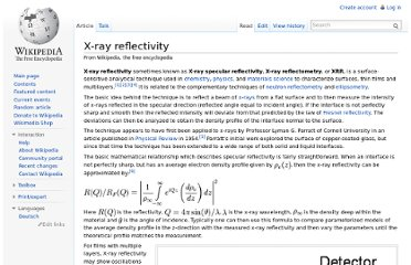 http://en.wikipedia.org/wiki/X-ray_reflectivity