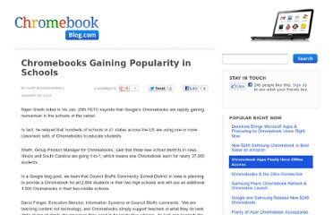 http://www.chromebookblog.com/2012/01/chromebooks-gaining-popularity-in-schools/