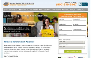 http://www.cashprior.com/what-is-a-merchant-cash-advance.php
