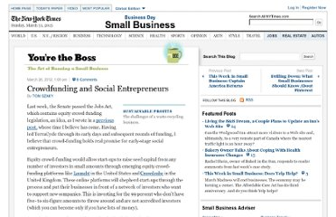 http://boss.blogs.nytimes.com/2012/03/26/crowdfunding-and-social-entrepreneurs/
