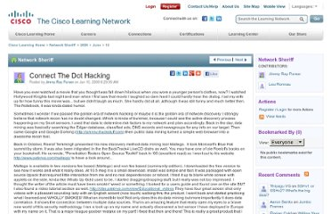 https://learningnetwork.cisco.com/blogs/network-sheriff/2009/06/10/connect-the-dot-hacking