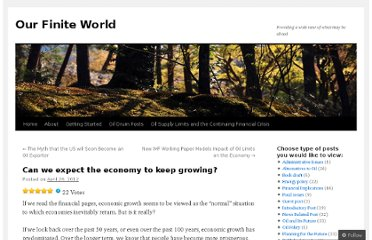 http://ourfiniteworld.com/2012/04/26/can-we-expect-the-economy-to-keep-growing/