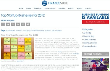 https://www.businessfinancestore.com/2012/02/02/top-startup-businesses-for-2012/