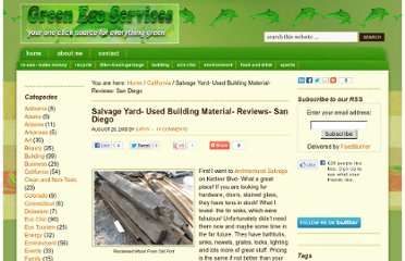 http://www.greenecoservices.com/salvage-yard-used-building-material-reviews-san-diego/