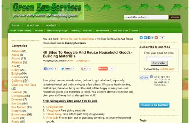 http://www.greenecoservices.com/40-sites-to-recycle-and-reuse-household-goods-building-materials/