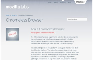 https://mozillalabs.com/en-US/chromeless/