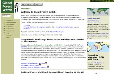 http://www.globalforestwatch.org/english/index.htm