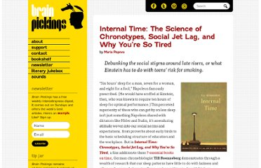 http://www.brainpickings.org/index.php/2012/05/11/internal-time-till-roenneber/