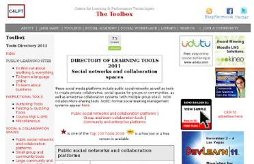 http://c4lpt.co.uk/Directory/Tools/social.html