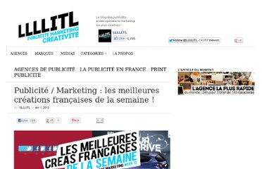 http://www.llllitl.fr/2012/04/publicite-marketing-les-meilleures-creations-francaises-de-la-semaine-13/