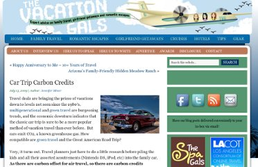 http://thevacationgals.com/car-trip-carbon-credits/
