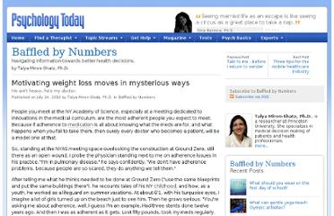 http://www.psychologytoday.com/blog/baffled-numbers/201007/motivating-weight-loss-moves-in-mysterious-ways