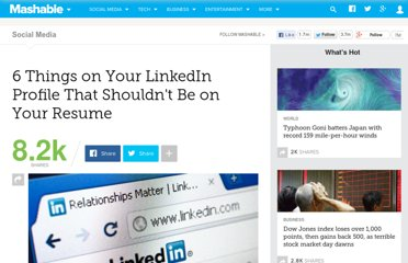 http://mashable.com/2012/05/12/linkedin-profile-resume/