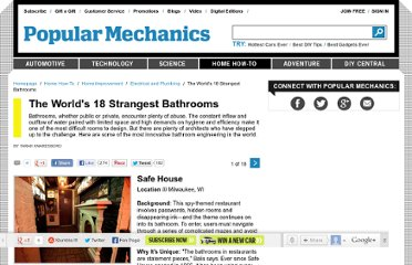 http://www.popularmechanics.com/home/improvement/electrical-plumbing/18-strangest-bathrooms-in-the-world#slide-1