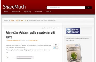 http://www.sharemuch.com/2012/05/11/retrieve-sharepoint-user-profile-property-value-with-jquery/