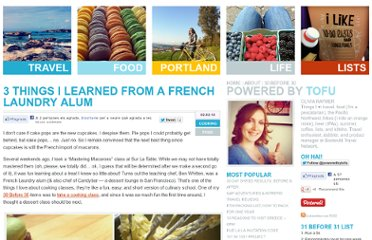 http://www.poweredbytofu.com/things-learned-french-laundry/