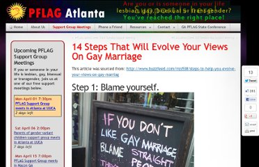 http://www.pflagatl.org/2012/05/14-steps-that-will-evolve-your-views-on-gay-marriage/