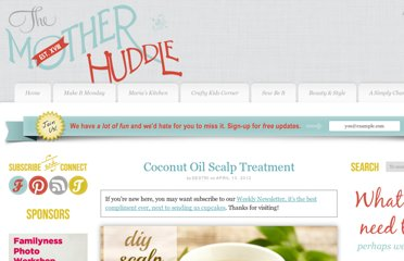 http://www.themotherhuddle.com/coconut-oil-scalp-treatment/
