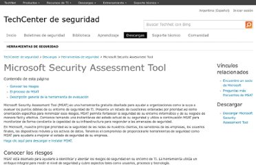 http://technet.microsoft.com/es-ar/security/cc185712.aspx