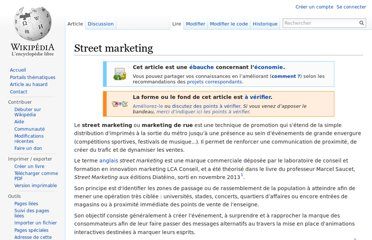 http://fr.wikipedia.org/wiki/Street_marketing