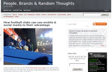 http://felixwetzel.com/how-football-clubs-can-use-mobile-social-media-to-their-advantage-413