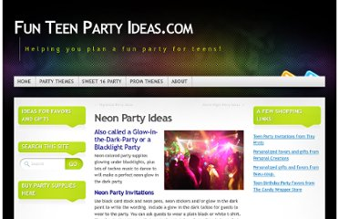 http://funteenpartyideas.com/neon-party-ideas/