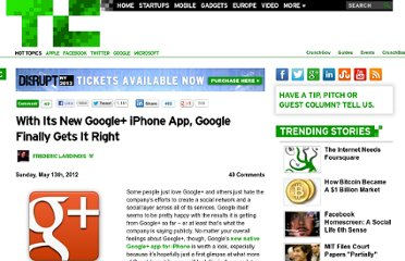 http://techcrunch.com/2012/05/13/with-its-new-google-app-google-finally-gets-it-right/