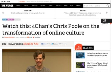 http://www.theverge.com/2012/5/13/3016659/watch-this-4chan-chris-poole-online-culture