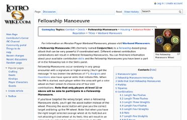 http://lotro-wiki.com/index.php/Fellowship_Manoeuvre