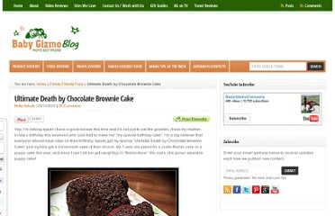 http://blog.babygizmo.com/2012/03/ultimate-death-by-chocolate-brownie-cake/