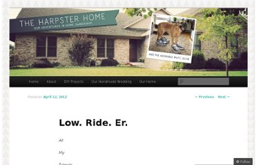 http://theharpsterhome.wordpress.com/2012/04/12/low-ride-er/