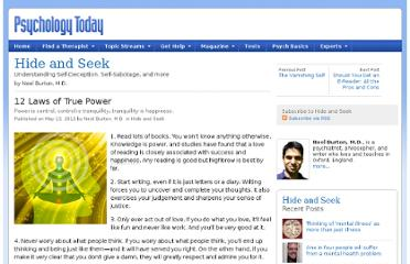 http://www.psychologytoday.com/blog/hide-and-seek/201205/12-laws-true-power