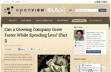 http://blog.openviewpartners.com/can-a-growing-company-grow-faster-while-spending-less-part-1/