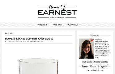 http://www.houseofearnest.com/have-make-glitter-and-glow/