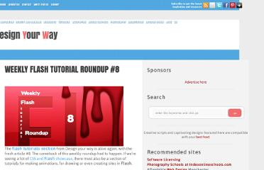 http://www.designyourway.net/blog/tutorials/flash-tutorials/weekly-flash-tutorial-roundup-8/