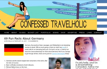 http://confessedtravelholic.com/2011/02/69-fun-facts-about-germany.html