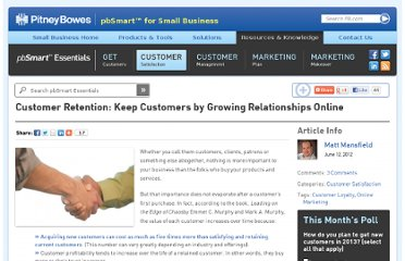 http://www.pbsmartessentials.com/customer-satisfaction/customer-retention-keep-customers-by-growing-relationships-online/