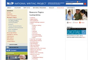 http://www.nwp.org/cs/public/print/resource_topic/teaching_writing?gclid=COut_paCgLACFaQQNAodvj91Vw
