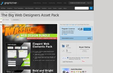 http://graphicriver.net/item/the-big-web-designers-asset-pack/240490