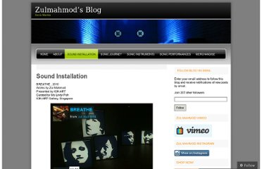 http://zulmahmod.wordpress.com/sound-installation/