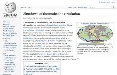 http://en.wikipedia.org/wiki/Shutdown_of_thermohaline_circulation