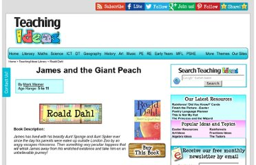 http://www.teachinglibrary.co.uk/book/james-and-the-giant-peach/#