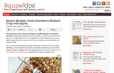 http://www.squawkfox.com/2009/07/17/dessert-recipes-strawberry-rhubarb-crisp-apples/
