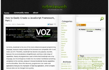 http://www.admixweb.com/2009/05/20/how-to-easily-create-a-javascript-framework-part-1/