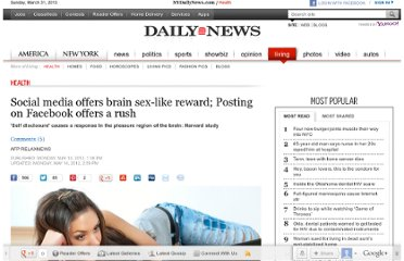 http://www.nydailynews.com/life-style/health/social-media-rewards-food-sex-study-article-1.1077930#ixzz1usT6GJUv
