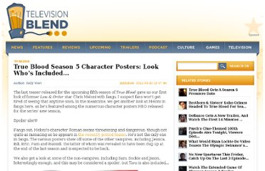 http://www.cinemablend.com/television/True-Blood-Season-5-Character-Posters-Look-Who-Included-42364.html
